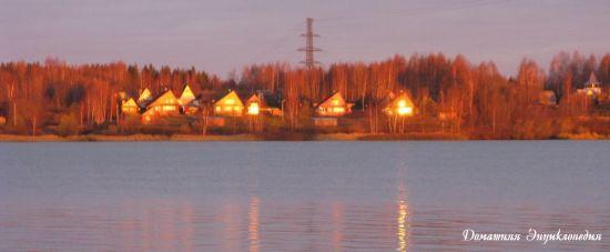 Угличское водохранилище. Кашинский мост. Ноябрь 2011 г.